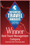 Business Travel Awards 2019 winners